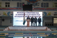 """Opening of the republican swimming tournament dedicated to the """"Day of the President of the Republic of Tajikistan"""""""