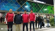 Tajikistan's team for swimming departed to Qatar for training and training collections