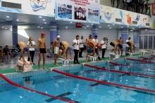 Награждение победителей республиканского турнира по плаванию в Согдийской области
